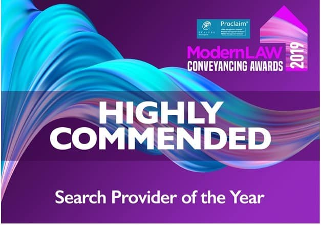 Searches UK Win Highly Commended!